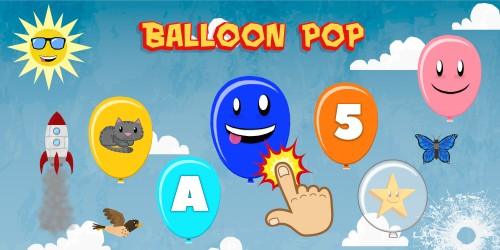 Balloon Pop for Toddlers & Kids