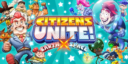 Citizens Unite! Earth x Space